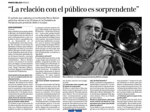 Entrevista Santi- Jazz en la Calle 2015