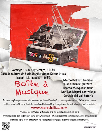 Boîte à Musique en Burlada, 13 de Septiembre