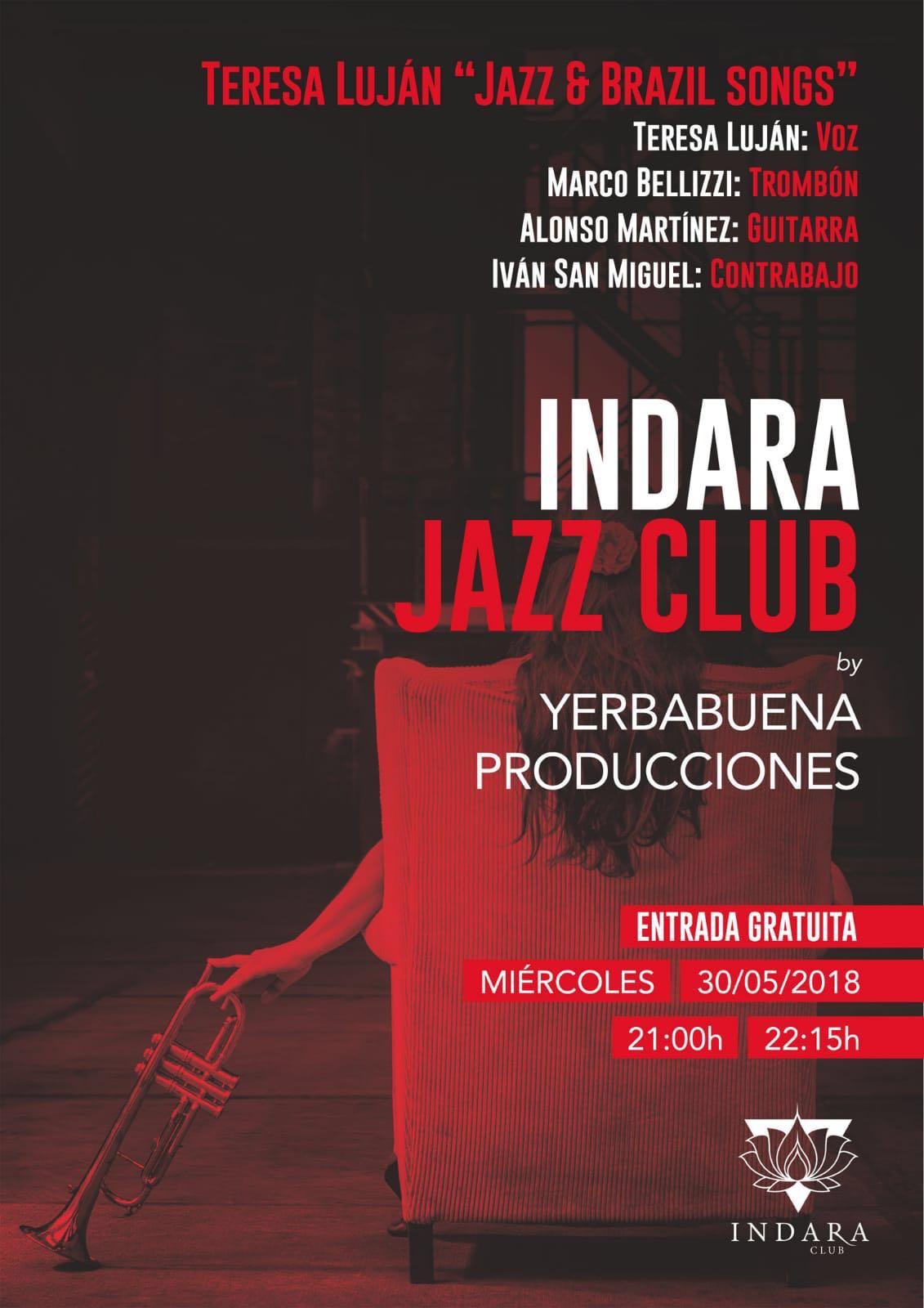 Teresa Luján 'Jazz & Brazil songs'